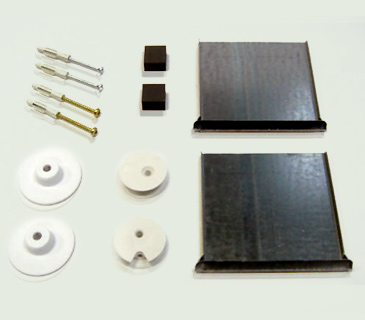 spiegelbefestigung l spiegel wandspiegel befestigung halterung kristallspiegel ebay. Black Bedroom Furniture Sets. Home Design Ideas