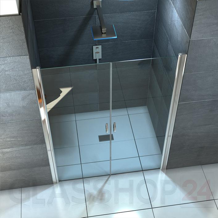design duschabtrennung mit lotuseffekt duscht r nischent r dusche glast r glas ebay. Black Bedroom Furniture Sets. Home Design Ideas