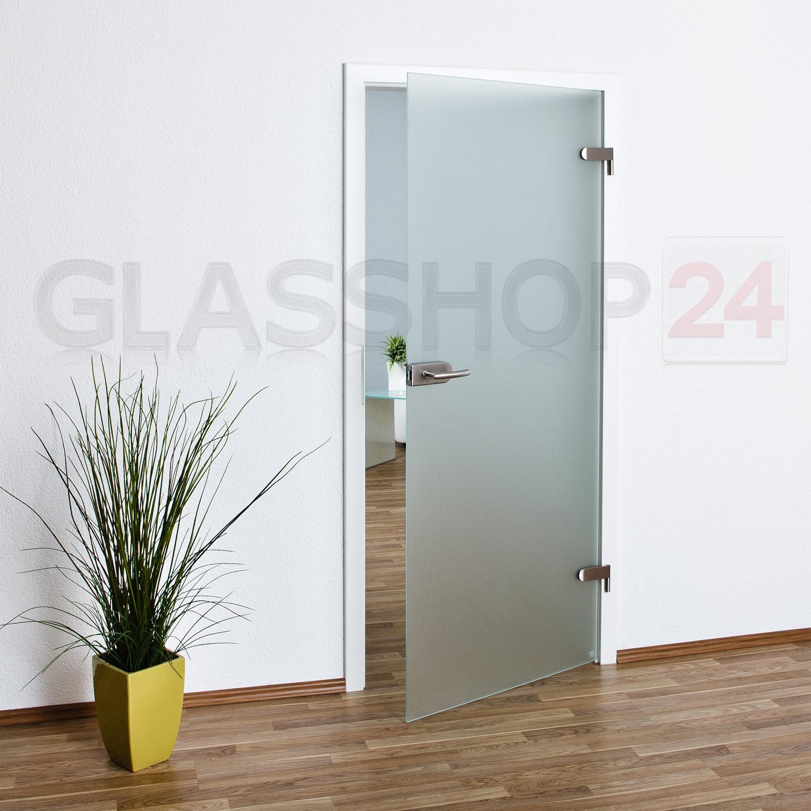 Zimmertüren glas  Glastür 70,9 oder 83,4cm Ganzglastür Glastüren Tür Türen Zimmertür ...