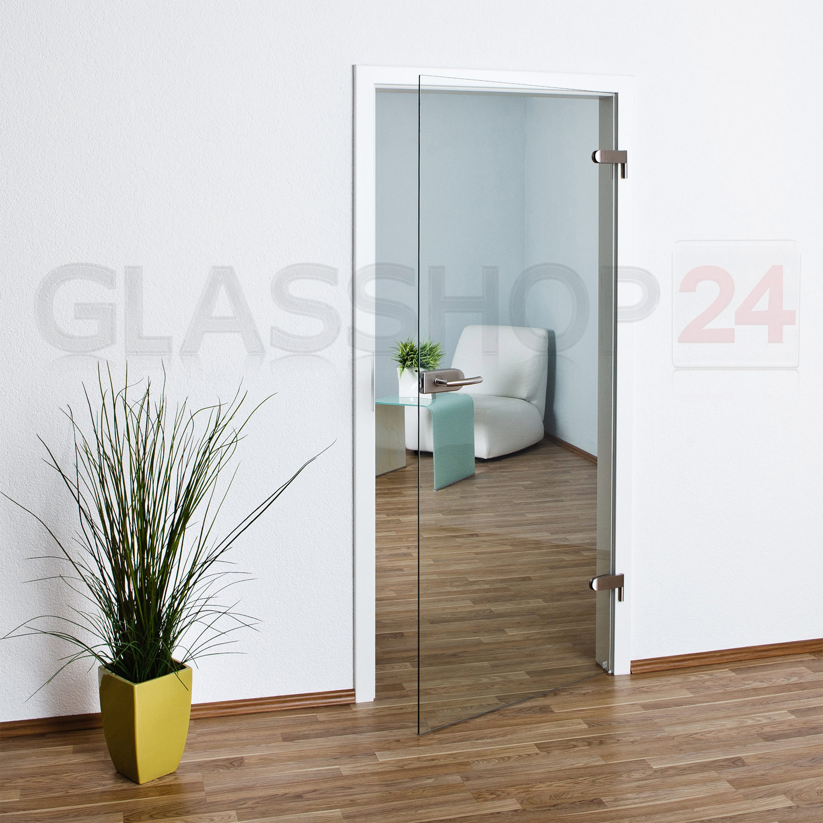 glast r 70 9 oder 83 4cm ganzglast r glast ren t r t ren zimmert r glas klar t4 ebay. Black Bedroom Furniture Sets. Home Design Ideas