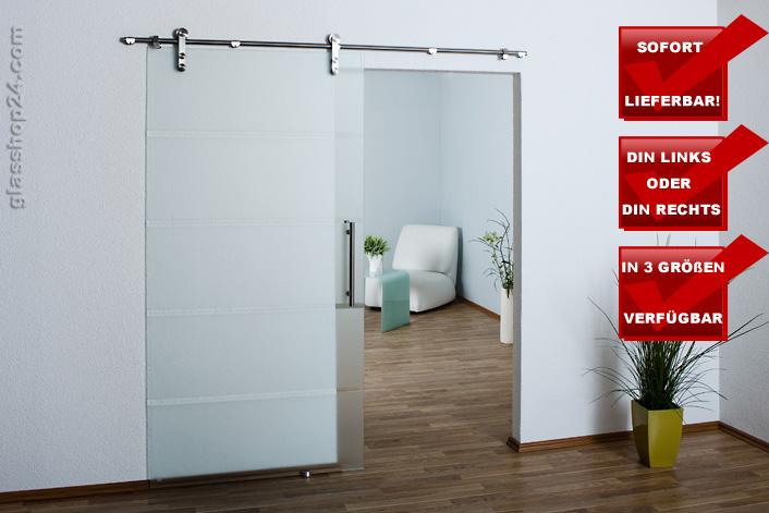 glasschiebet r schiebet r glast r glas t r satiniert. Black Bedroom Furniture Sets. Home Design Ideas