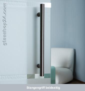 Glasschiebetür Schiebetür Glastür Glas Tür | satiniert