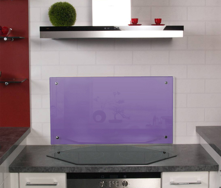 k chenr ckw nde k chenr ckwand aus glas als spritzschutz. Black Bedroom Furniture Sets. Home Design Ideas